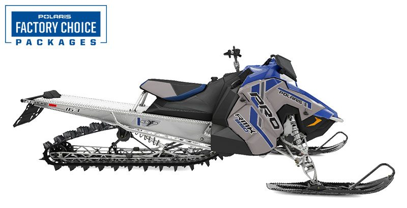 2021 Polaris 850 PRO RMK 163 2.6 in. Factory Choice in Newport, Maine - Photo 1