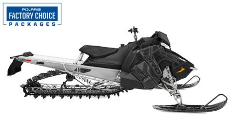 2021 Polaris 850 PRO RMK 163 3 in. Factory Choice in Woodruff, Wisconsin