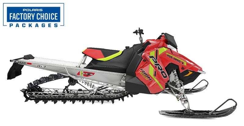 2021 Polaris 850 PRO RMK 163 3 in. Factory Choice in Lincoln, Maine - Photo 1