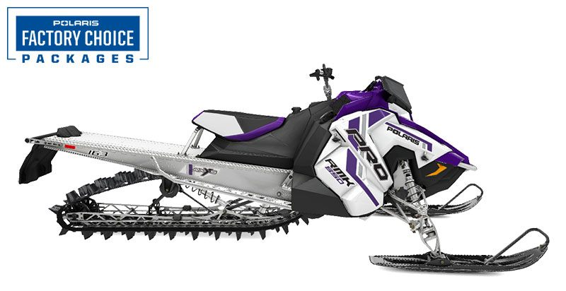 2021 Polaris 850 PRO RMK 163 3 in. Factory Choice in Rexburg, Idaho - Photo 1