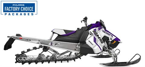 2021 Polaris 850 SKS 155 Factory Choice in Lincoln, Maine - Photo 1