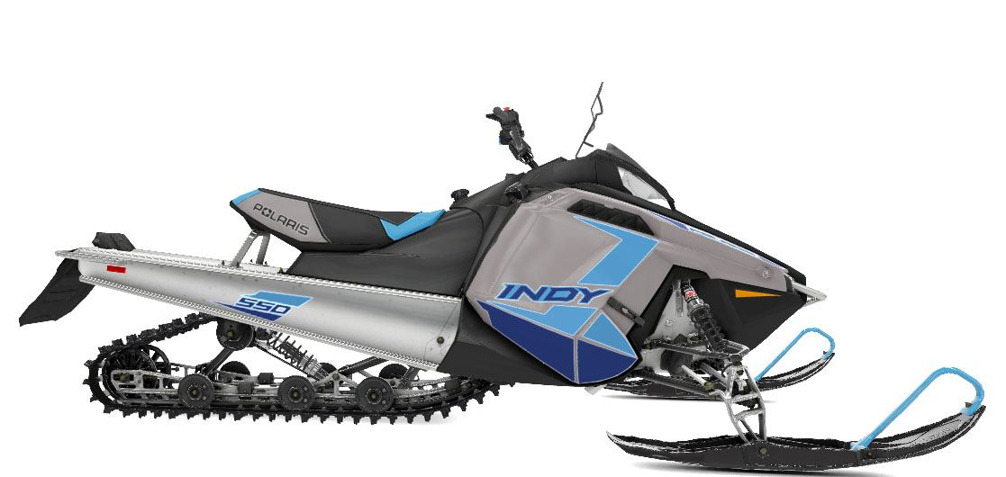 2021 Polaris 550 Indy 144 ES in Greenland, Michigan - Photo 1