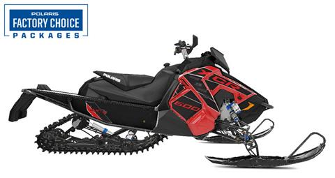 2021 Polaris 600 Indy XCR 129 Factory Choice in Mountain View, Wyoming