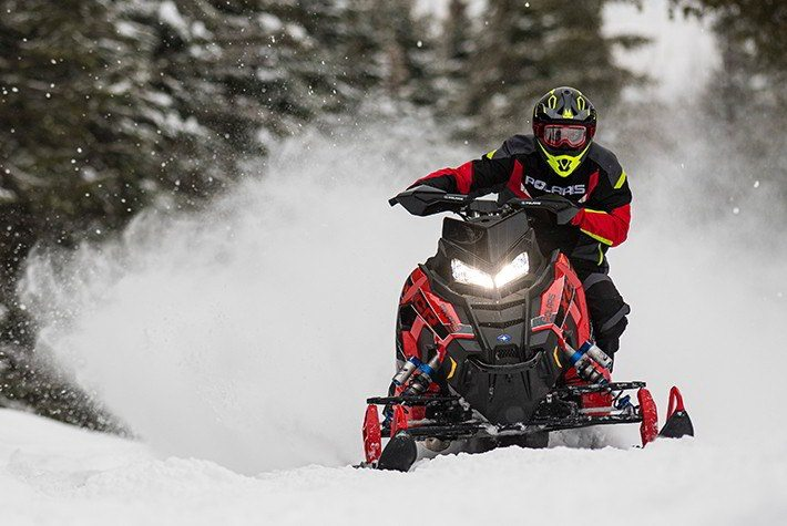 2021 Polaris 600 Indy XCR 129 Factory Choice in Mount Pleasant, Michigan - Photo 4