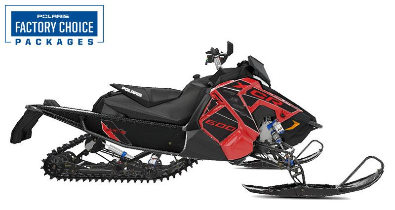 2021 Polaris 600 Indy XCR 129 Factory Choice in Algona, Iowa - Photo 1