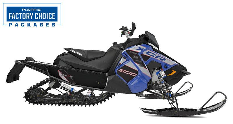 2021 Polaris 600 Indy XCR 129 Factory Choice in Hancock, Michigan - Photo 1