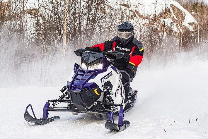 2021 Polaris 600 Indy XC 129 Factory Choice in Mars, Pennsylvania - Photo 2