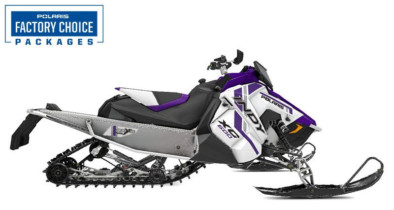2021 Polaris 600 Indy XC 129 Factory Choice in Tualatin, Oregon - Photo 1