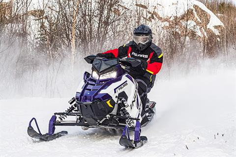 2021 Polaris 600 Indy XC 129 Factory Choice in Shawano, Wisconsin - Photo 2