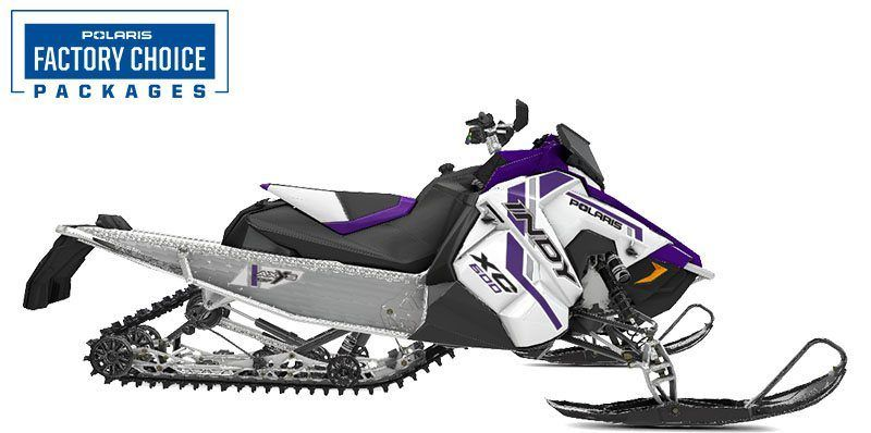2021 Polaris 600 Indy XC 137 Factory Choice in Woodruff, Wisconsin - Photo 1