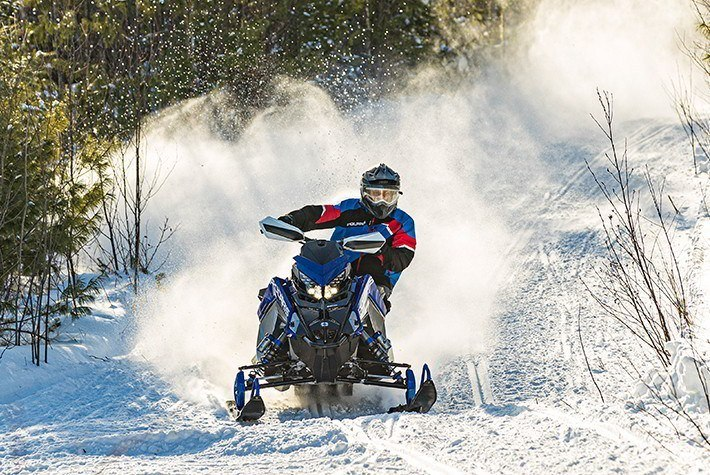 2021 Polaris 600 Switchback Assault 144 Factory Choice in Altoona, Wisconsin - Photo 2