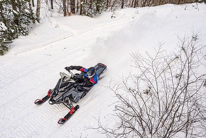 2021 Polaris 600 Switchback Assault 144 Factory Choice in Newport, Maine - Photo 3