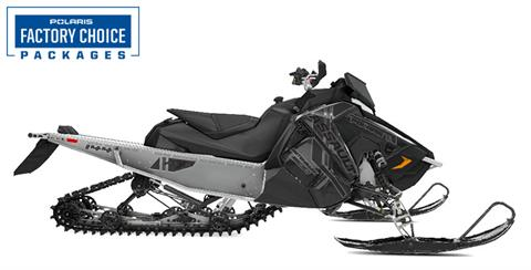 2021 Polaris 600 Switchback Assault 144 Factory Choice in Homer, Alaska