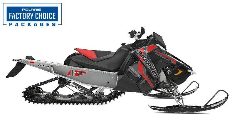 2021 Polaris 600 Switchback Assault 144 Factory Choice in Malone, New York - Photo 1