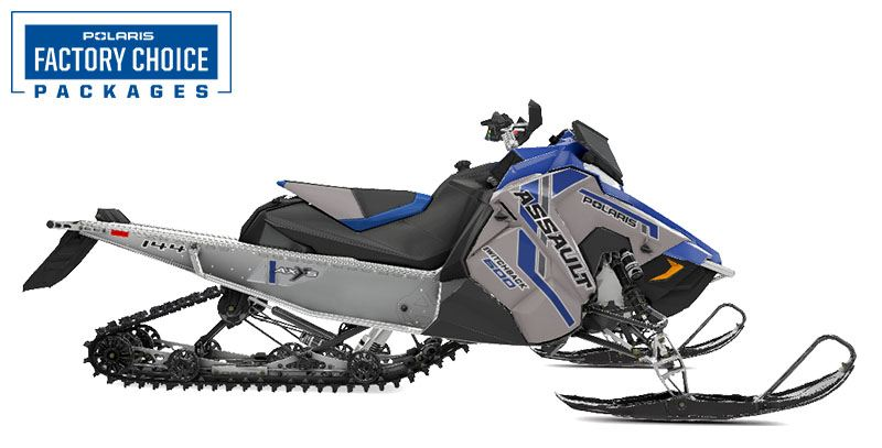2021 Polaris 600 Switchback Assault 144 Factory Choice in Auburn, California - Photo 1