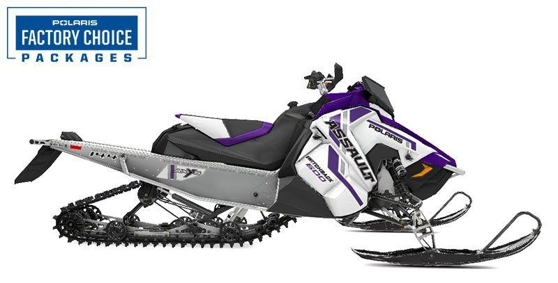 2021 Polaris 600 Switchback Assault 144 Factory Choice in Woodruff, Wisconsin - Photo 1