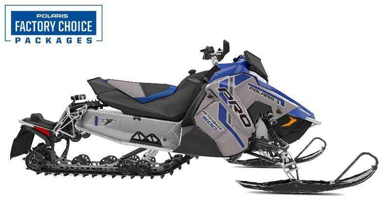 2021 Polaris 600 Switchback PRO-S Factory Choice in Mount Pleasant, Michigan - Photo 1