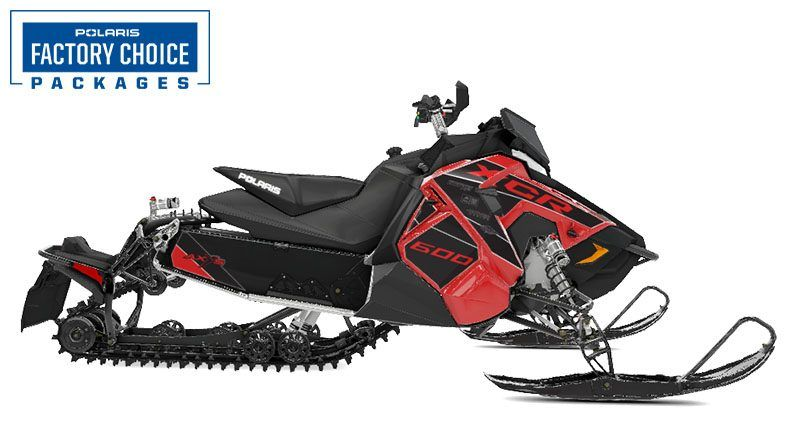 2021 Polaris 600 Switchback XCR Factory Choice in Devils Lake, North Dakota - Photo 1