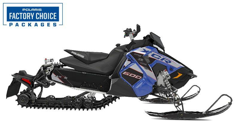 2021 Polaris 600 Switchback XCR Factory Choice in Anchorage, Alaska - Photo 1