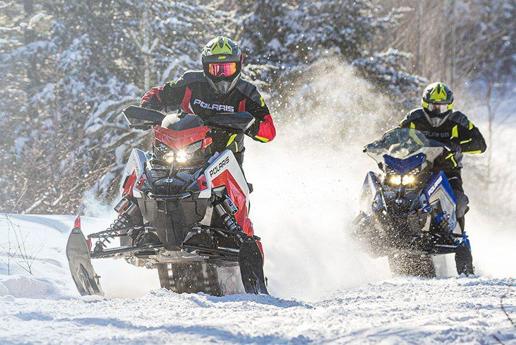 2021 Polaris 650 Indy XC 129 Launch Edition Factory Choice in Fairbanks, Alaska - Photo 2