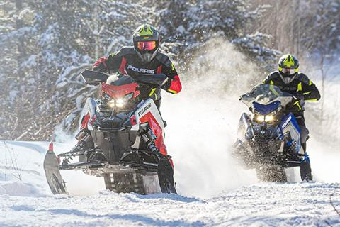 2021 Polaris 650 Indy XC 129 Launch Edition Factory Choice in Woodruff, Wisconsin - Photo 2