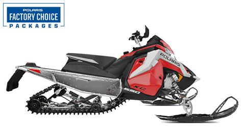 2021 Polaris 650 Indy XC 129 Launch Edition Factory Choice in Fairbanks, Alaska - Photo 1