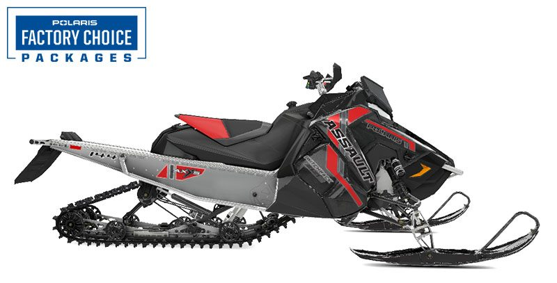 2021 Polaris 850 Switchback Assault 144 Factory Choice in Woodruff, Wisconsin - Photo 1
