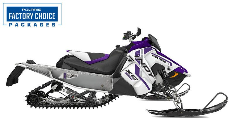 2021 Polaris 850 Indy XC 129 Factory Choice in Woodruff, Wisconsin - Photo 1