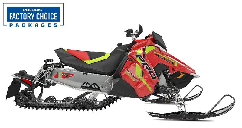 2021 Polaris 850 Switchback PRO-S Factory Choice in Little Falls, New York - Photo 1