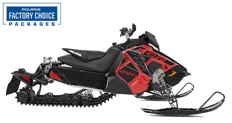 2021 Polaris 850 Switchback XCR Factory Choice in Rapid City, South Dakota - Photo 1