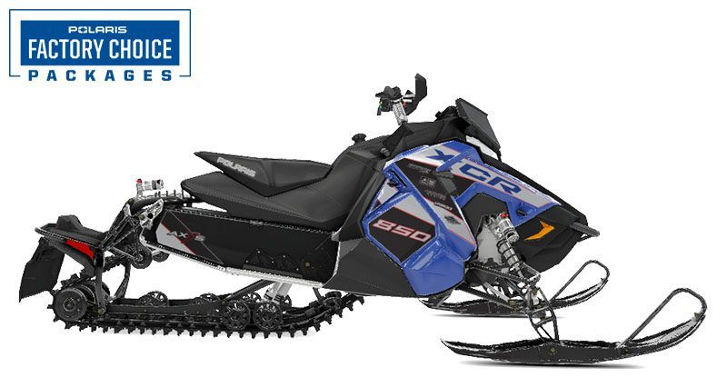 2021 Polaris 850 Switchback XCR Factory Choice in Lincoln, Maine - Photo 1
