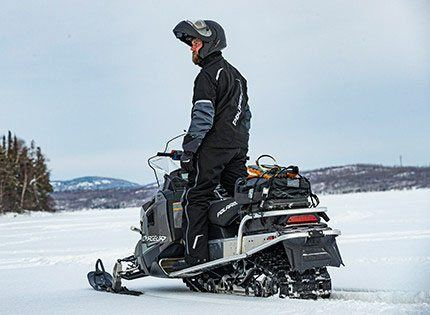 2021 Polaris 550 Voyageur 155 ES in Lewiston, Maine - Photo 2