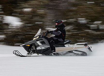 2021 Polaris 550 Voyageur 155 ES in Pittsfield, Massachusetts - Photo 4
