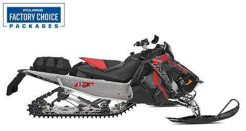 2021 Polaris 600 Indy Adventure 137 Factory Choice in Woodruff, Wisconsin