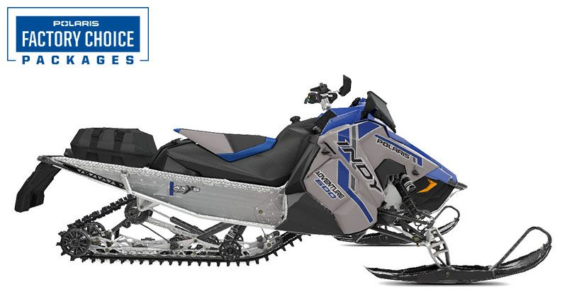 2021 Polaris 600 Indy Adventure 137 Factory Choice in Center Conway, New Hampshire - Photo 1
