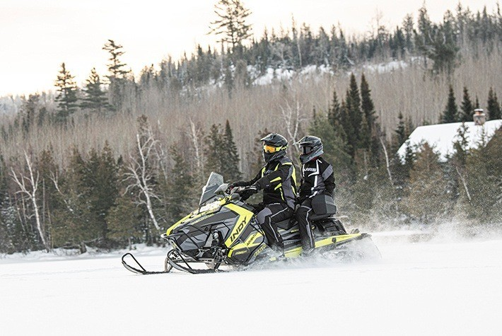 2021 Polaris 600 Indy Adventure 137 Factory Choice in Fairbanks, Alaska - Photo 2