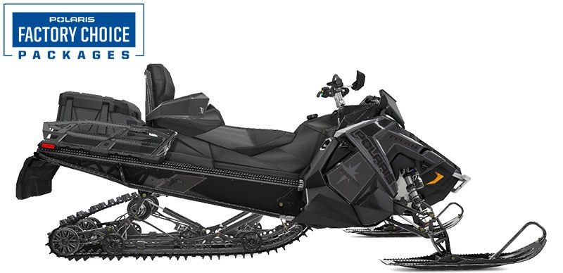 2021 Polaris 800 Titan Adventure 155 Factory Choice in Pittsfield, Massachusetts