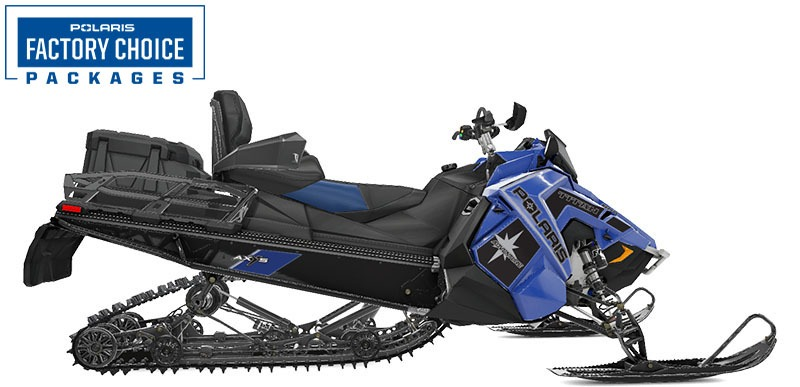 2021 Polaris 800 Titan Adventure 155 Factory Choice in Lincoln, Maine