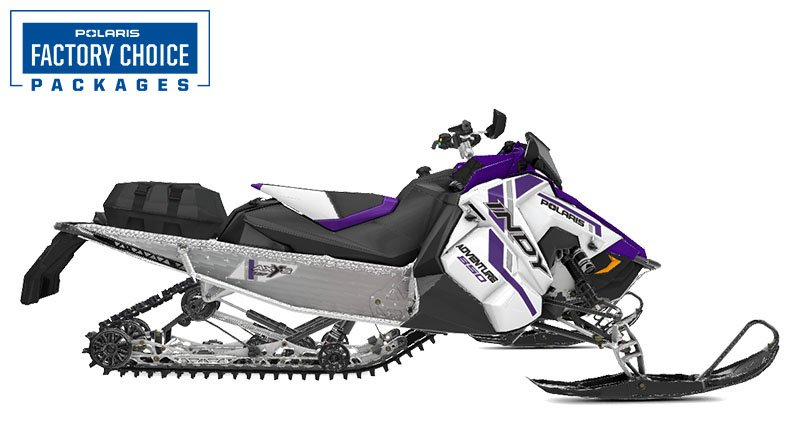 2021 Polaris 850 Indy Adventure 137 Factory Choice in Waterbury, Connecticut
