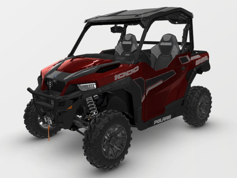 2021 Polaris General 1000 Deluxe Ride Command in Elma, New York - Photo 1