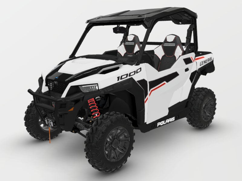2021 Polaris General 1000 Deluxe Ride Command in Lewiston, Maine - Photo 1