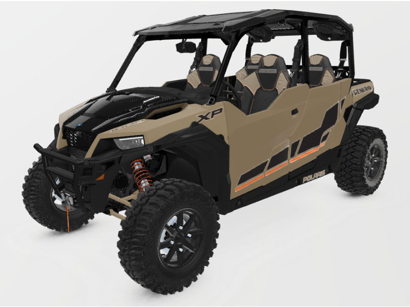 2021 Polaris General XP 4 1000 Deluxe Ride Command in Tulare, California