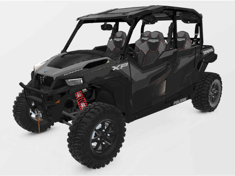 2021 Polaris General XP 4 1000 Deluxe Ride Command in Lewiston, Maine - Photo 1