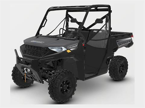 2021 Polaris Ranger 1000 Premium + Winter Prep Package in Milford, New Hampshire