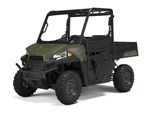 2021 Polaris Ranger 500 in Belvidere, Illinois