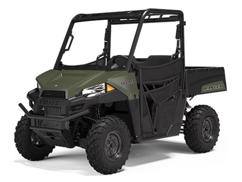 2021 Polaris Ranger 500 in Danbury, Connecticut - Photo 1