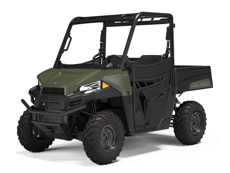 2021 Polaris Ranger 570 in Paso Robles, California