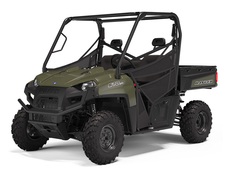 2021 Polaris Ranger 570 Full-Size in Asheville, North Carolina - Photo 2