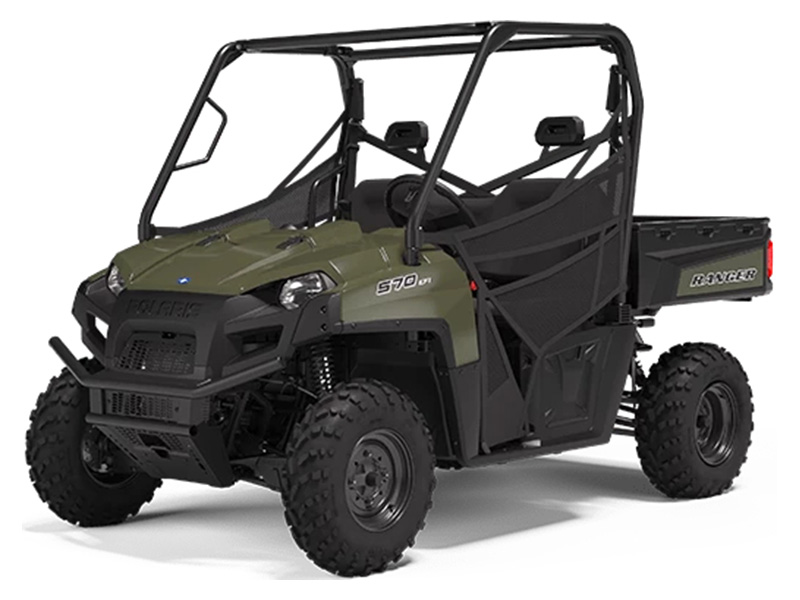 2021 Polaris Ranger 570 Full-Size in Lincoln, Maine - Photo 1