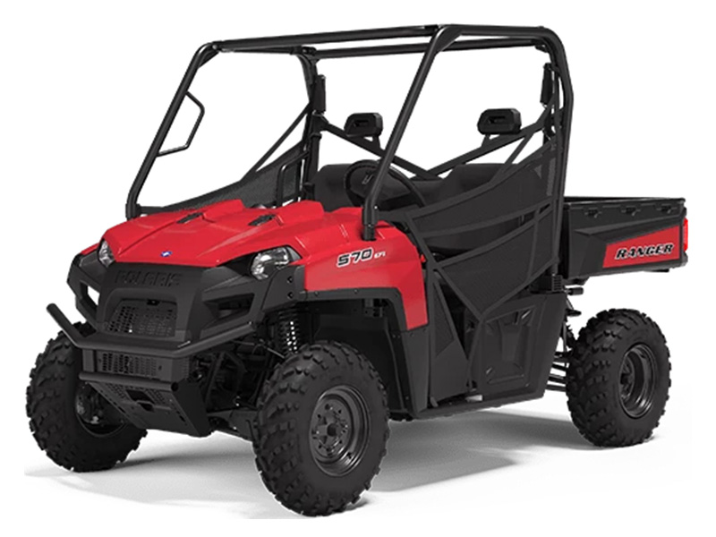 2021 Polaris Ranger 570 Full-Size in Hollister, California - Photo 1